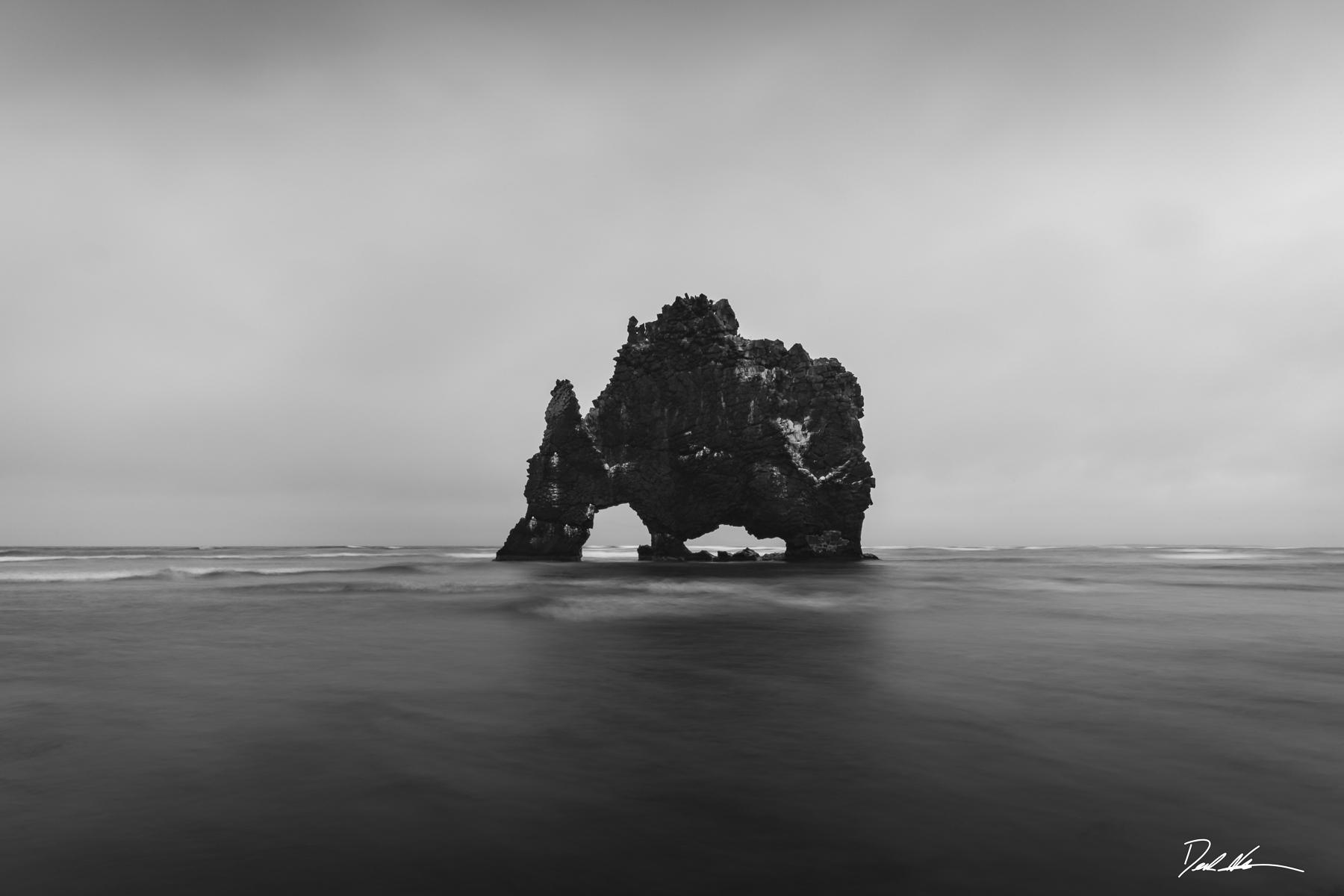 Iceland ocean seascape