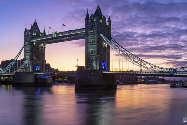 London Bridge at dawn